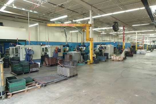 Dunham Products CNC department