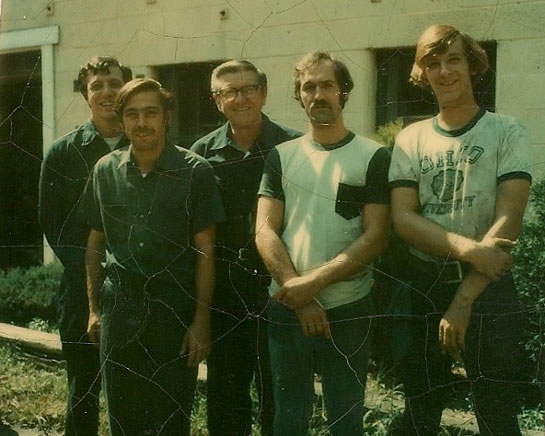 Dunham Products crew, circa 1976